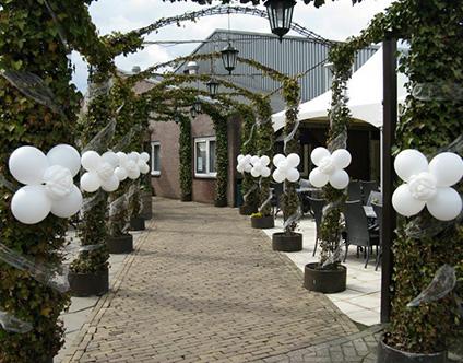 Thumbnail ballondecoratie bruiloft